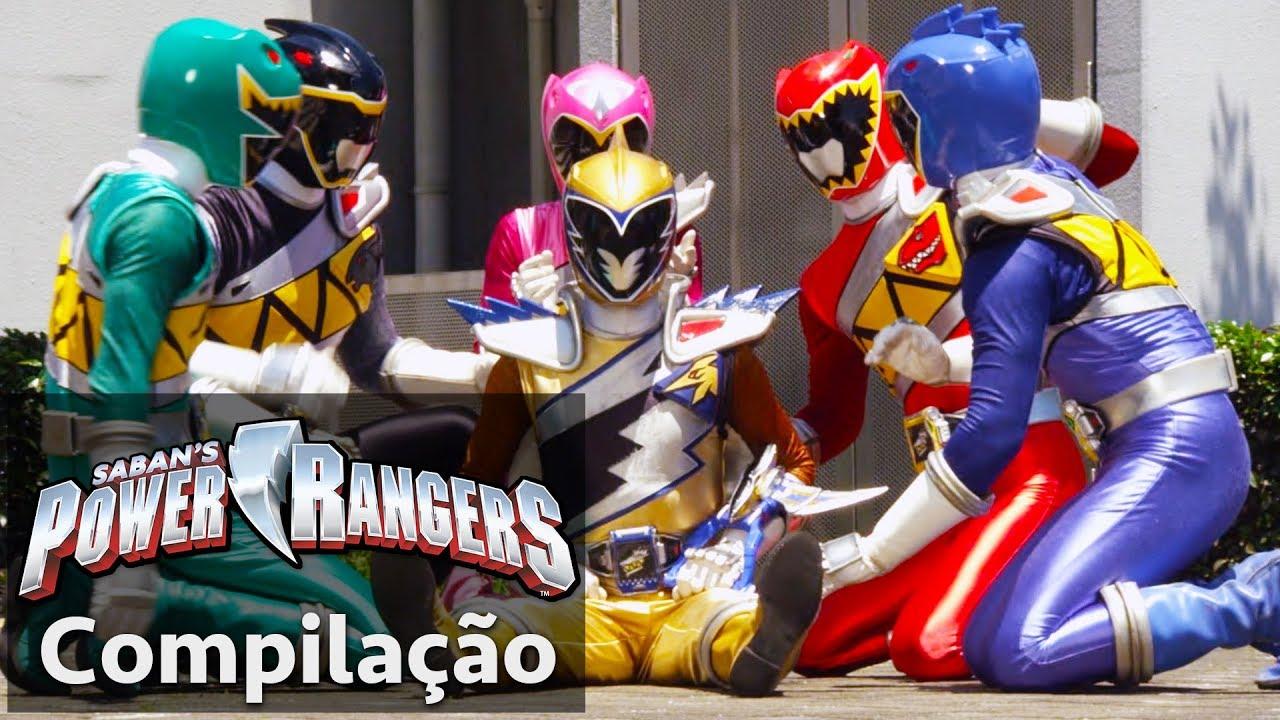 Power Rangers Em Portugues Dino Super Charge A Derrota Dos