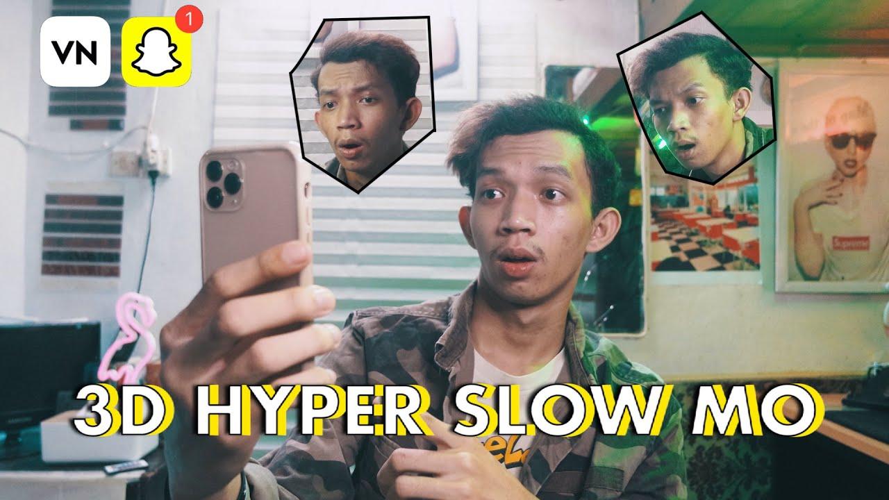 3D Stereoscopic Snapchat Alternative Loopsie | Hyper slow motion