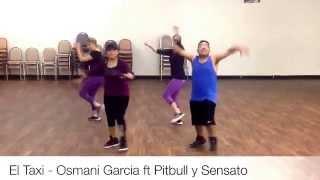 El Taxi - Osmani Garcia ft Pitbull y Sensato Zumba Rene