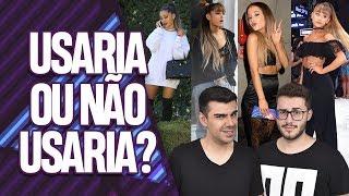 COMENTANDO LOOKS DA ARIANA GRANDE! | Virou Festa