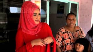 Masuk Kampung, Evie Tamala Dikerubungi Fans