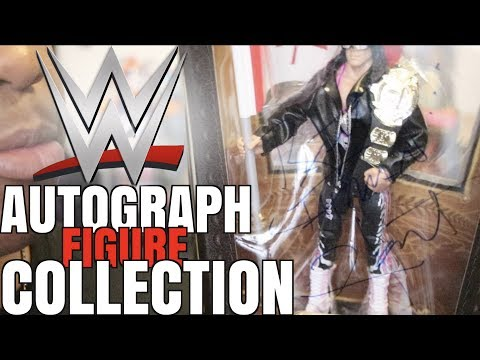 Autographed WWE Figure Collection 2017