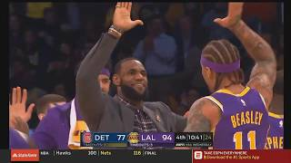 Lonzo Ball Impresses LeBron & Kyle Kuzma Shocks Lakers After Destroying Pistons! Lakers vs Pistons