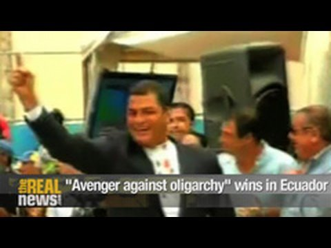 """Avenger against oligarchy"" wins in Ecuador"