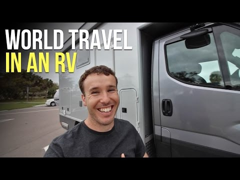 Traveling the WORLD in an Expedition RV / Earthroamer