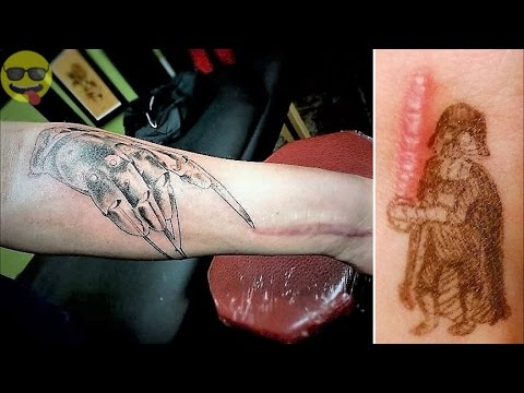 Funny and Creative Tattoos to Cover Scars