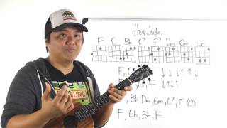 Ukulele Whiteboard Request - Hey Jude