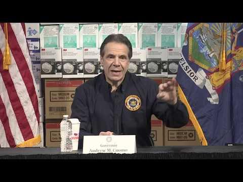 WATCH: New York Gov. Cuomo provides update on coronavirus response - 3/25 (FULL LIVE STREAM)