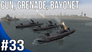 Men of War Red Tide Walkthrough - Blue Line - Gun, Grenade, Bayonet