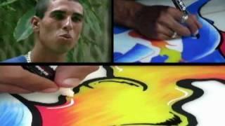 Entrevista com Macarrão - Arte Grafite - Surf Guarujá