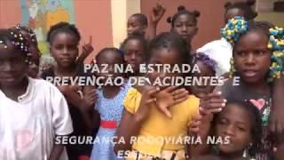 Paz na Estrada - um projecto de prevençaõ de acidentes rodoviaria em Luanda