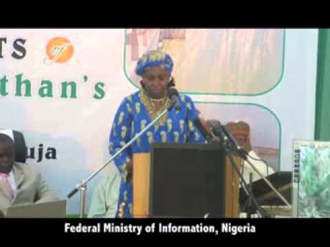 Ministerial Platform 2013: Presentation by the Minister of Water Resources, Mrs. Sarah Ochekpe.