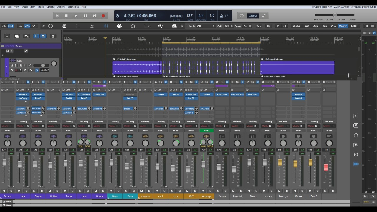 Reaper Pro Tools Key Commands Mac