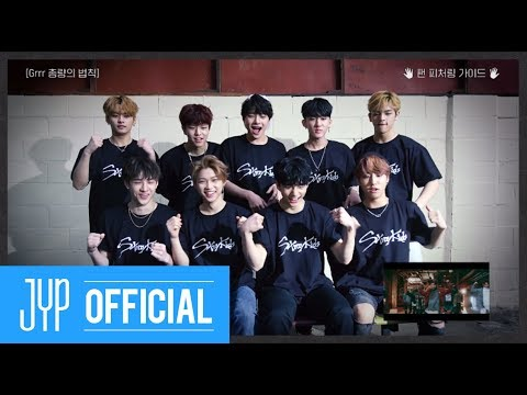 "Stray Kids ""Grrr 총량의 법칙"" Fan Featuring Guide Video"
