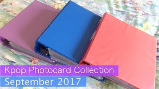 My Kpop Photocard Collection | September 2017