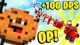 *Candy Weapons Mod* Minecraft Modded Cookie Camp - Minecraft Modded Minigames   JeromeASF
