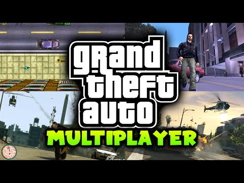 HISTORY OF MULTIPLAYER IN THE GTA SERIES & GTA ONLINE!