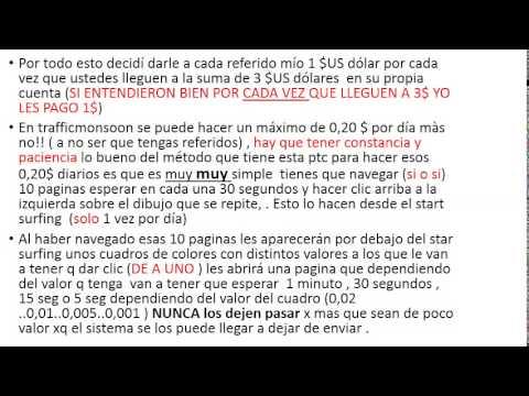 TRAFFIC MONSOON TE PAGO 1$  X CADA 3$