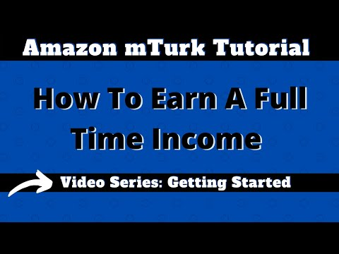 Amazon Mechanical Turk Video Series: Getting Started, Starter Scripts