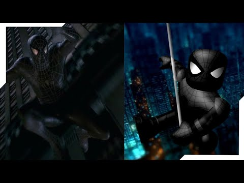 How To Look Like Black Spiderman In Roblox Roblox Bloxverse Unlimited Recreating Spider Man 3 Black Suit Scene Youtube
