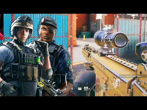 CAPITAO AND LESION BUFF! - Rainbow Six Siege Gameplay (TTS Servers)
