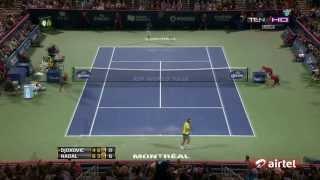 Rafael Nadal Vs Novak Djokovic Best Points [HD] (Part 4)