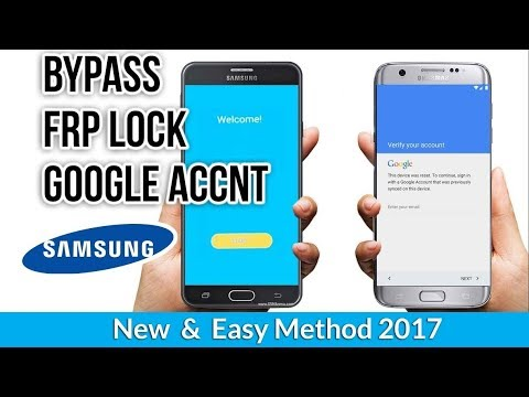 Bypass Google Account Samsung Galaxy S7, S7edge, S6, S6edge, A Series, C Series, J Series  2017 thumbnail