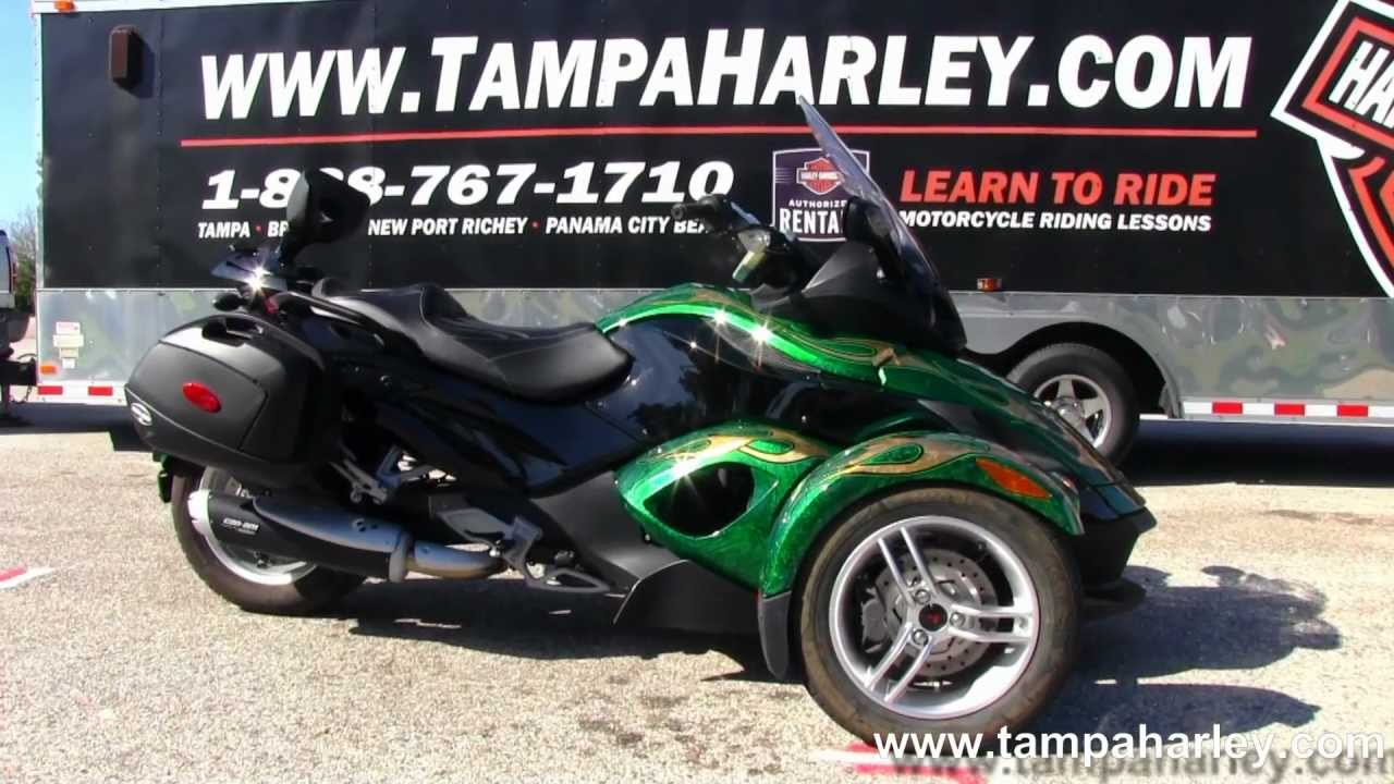 Used 2009 can am spyder rs with custom paint for sale
