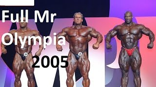 MR OLYMPIA 2005 Ronnie Coleman Jay Cutler