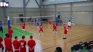 Левски - ЦСКА 3:2 (Волейбол U15) - Групи - 03 Март 2018