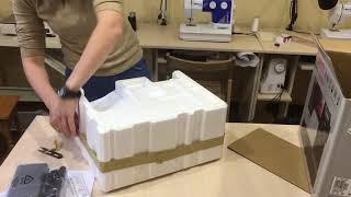 Розпакування швейної машинки Toyota Superjeans 26 від Rozetka #мояраспаковка
