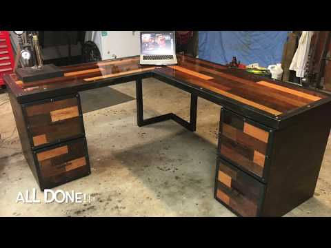 Metal and Wood Desk Build Part 3: Drawer Fronts