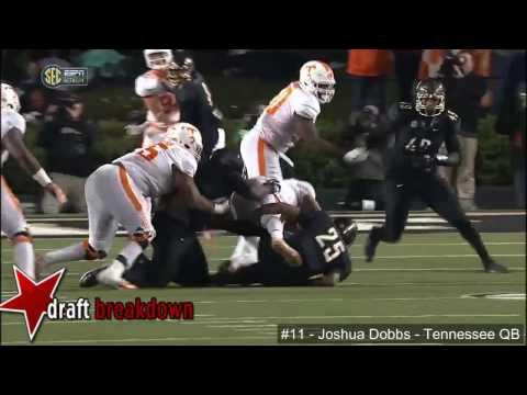 Joshua Dobbs (Tennessee QB) vs Vanderbilt 2016
