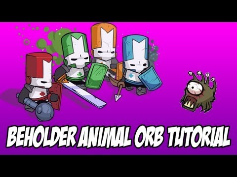 how to get all the animals in castle crashers