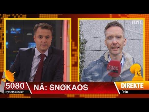 Mann skadet i snøkaoset i Oslo: Meteorologer varsler storm av nordnorsk latter