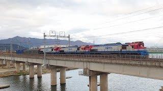 3481열차 의왕-가야 화물 (물금~화명 간 / 기관차…