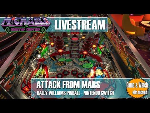 Attack From Mars Bally Williams Pinball | MichaelBtheGameGenie from MichaelBtheGameGenie