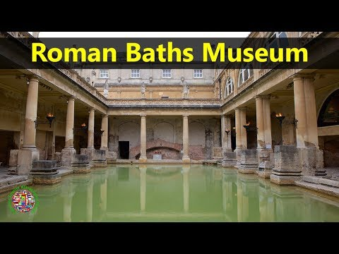 Best Tourist Attractions Places To Travel In UK-England | Roman Baths Museum Destination Spot