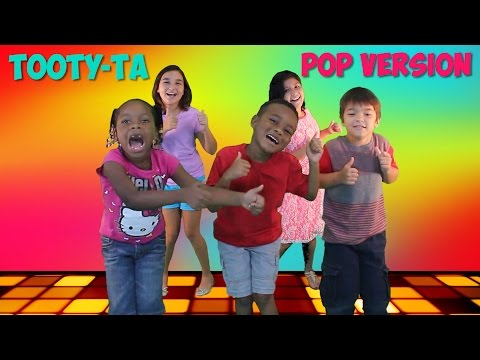 New Dance Song For Kids | Tooty-Ta (Pop Version) | Brain Breaks | Jack Hartmann