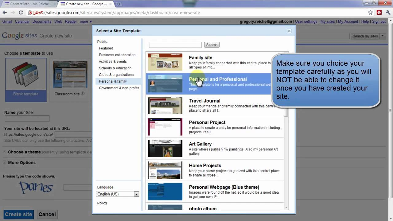 Google sites lessons tes teach google sites pronofoot35fo Gallery