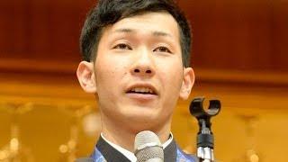 スノボ銅の平岡、上宮高で凱旋報告会 平岡卓 検索動画 24
