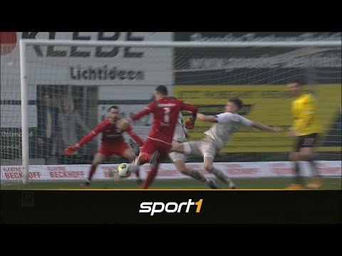 Torwart-Tor in Schlusssekunde: Aachen-Keeper sorgt für irres Ende   SPORT1