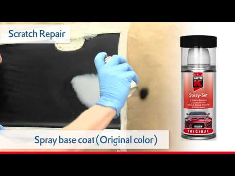 How do I remove paint scratches from a car – scratch repair – Auto-K