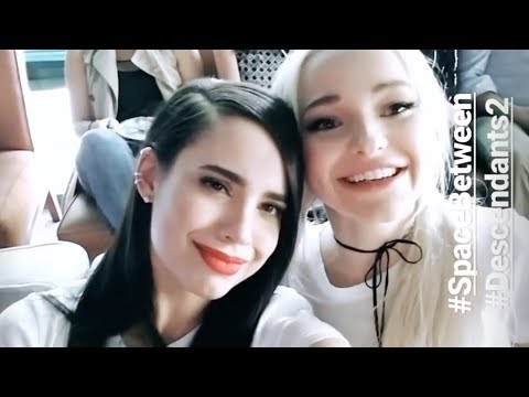 Sofia Carson | Snapchat Videos | July 22nd 2017 | ft Dove Cameron & Cameron Boyce