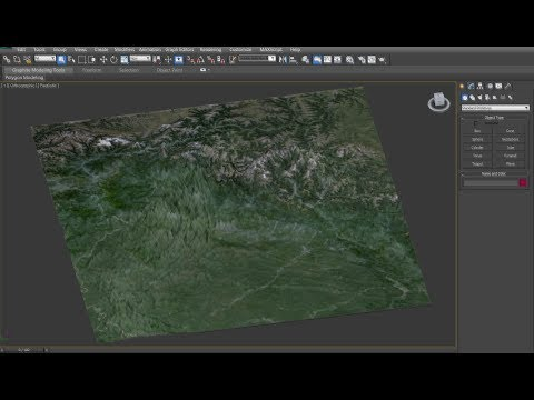 UPDATE: Creating a Highly Detailed 3D Terrain in 3Ds Max with Google Earth