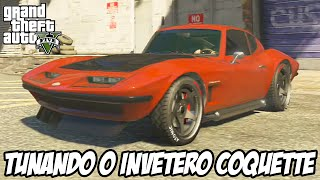 GTA V - Tunando o Invetero Coquette Clássico CARRO NOVO