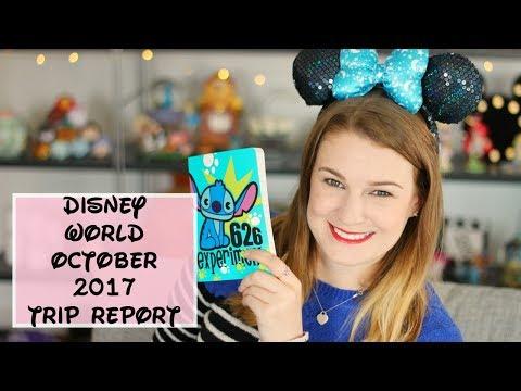 Disney World Trip Report - Fall 2017 | lilmisschickas
