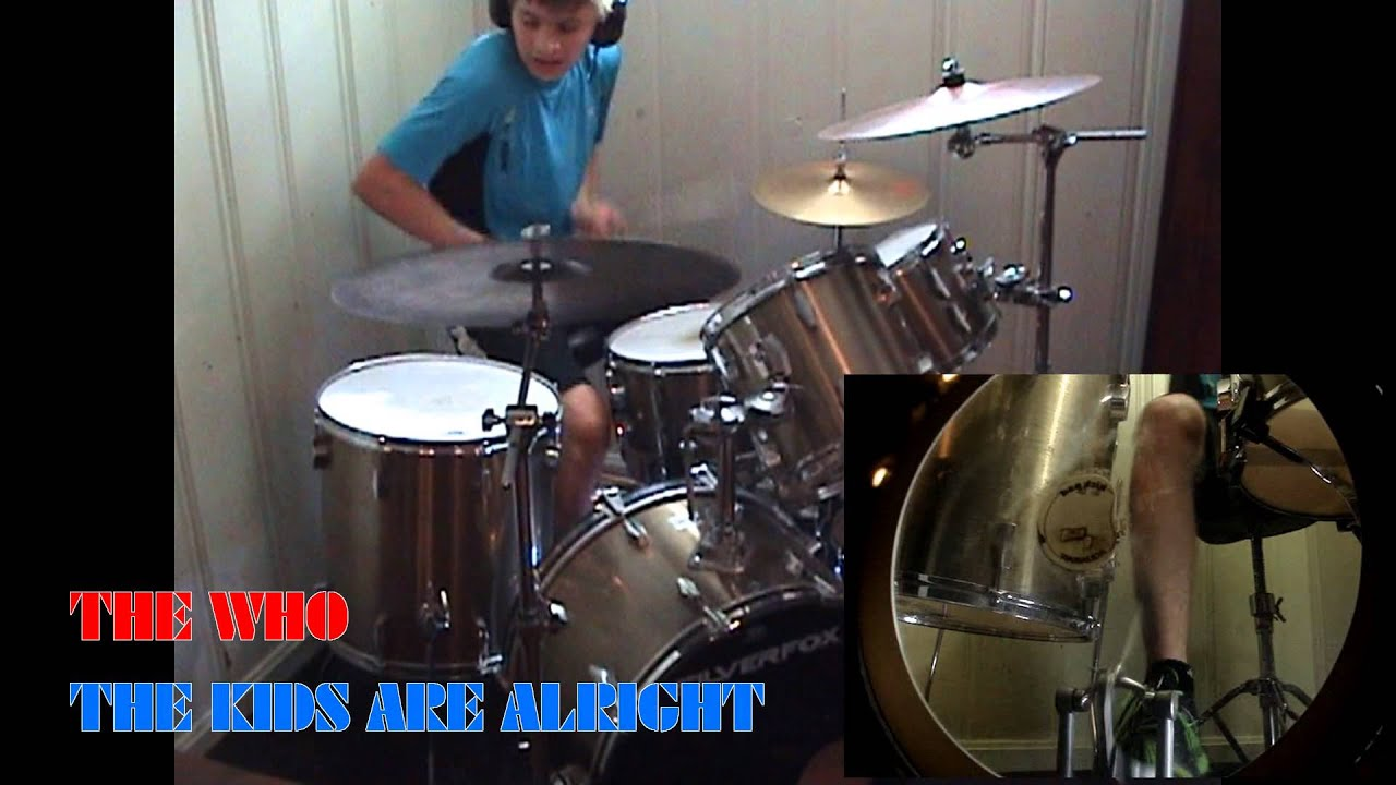 Cant you hear me knocking drum cover