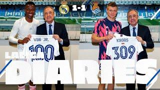 Vini Jr. strikes late! | Real Madrid 1-1 Real Sociedad | BEHIND THE SCENES