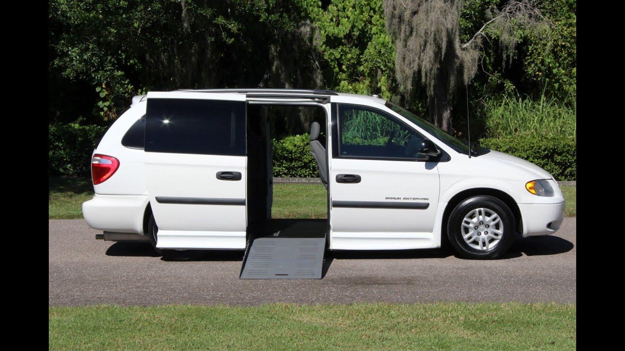 Wheelchair Van Handicap Ramp Van Braun Mobility 2005 Dodge
